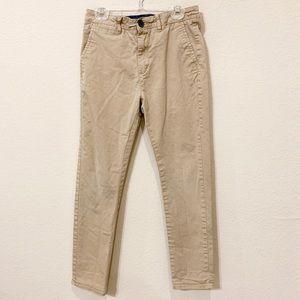 H&M Boy's Khaki Skinny Pants
